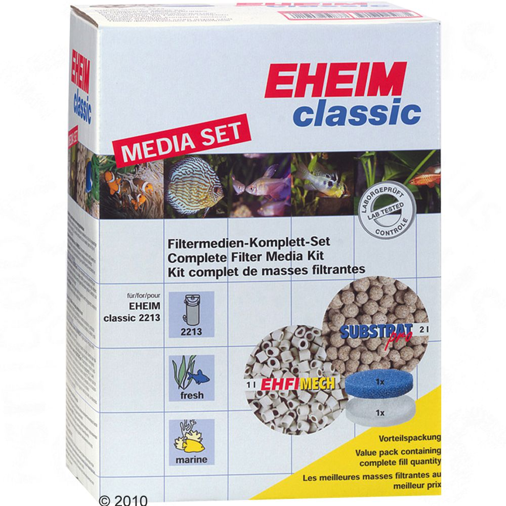 High-quality Eheim filter materials in a convenient media set - all at bargain prices