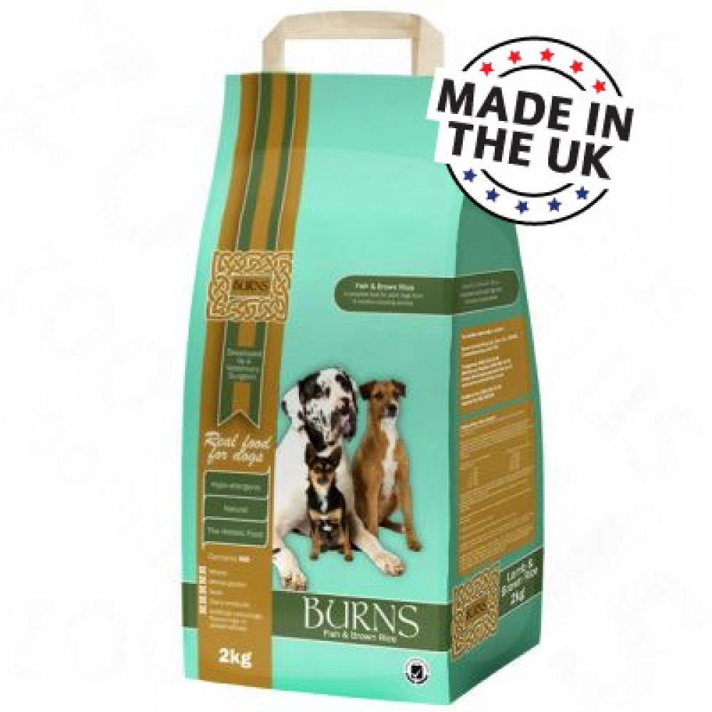 Burns dry food for adult dogs over 6 months also suitable for senior dogs