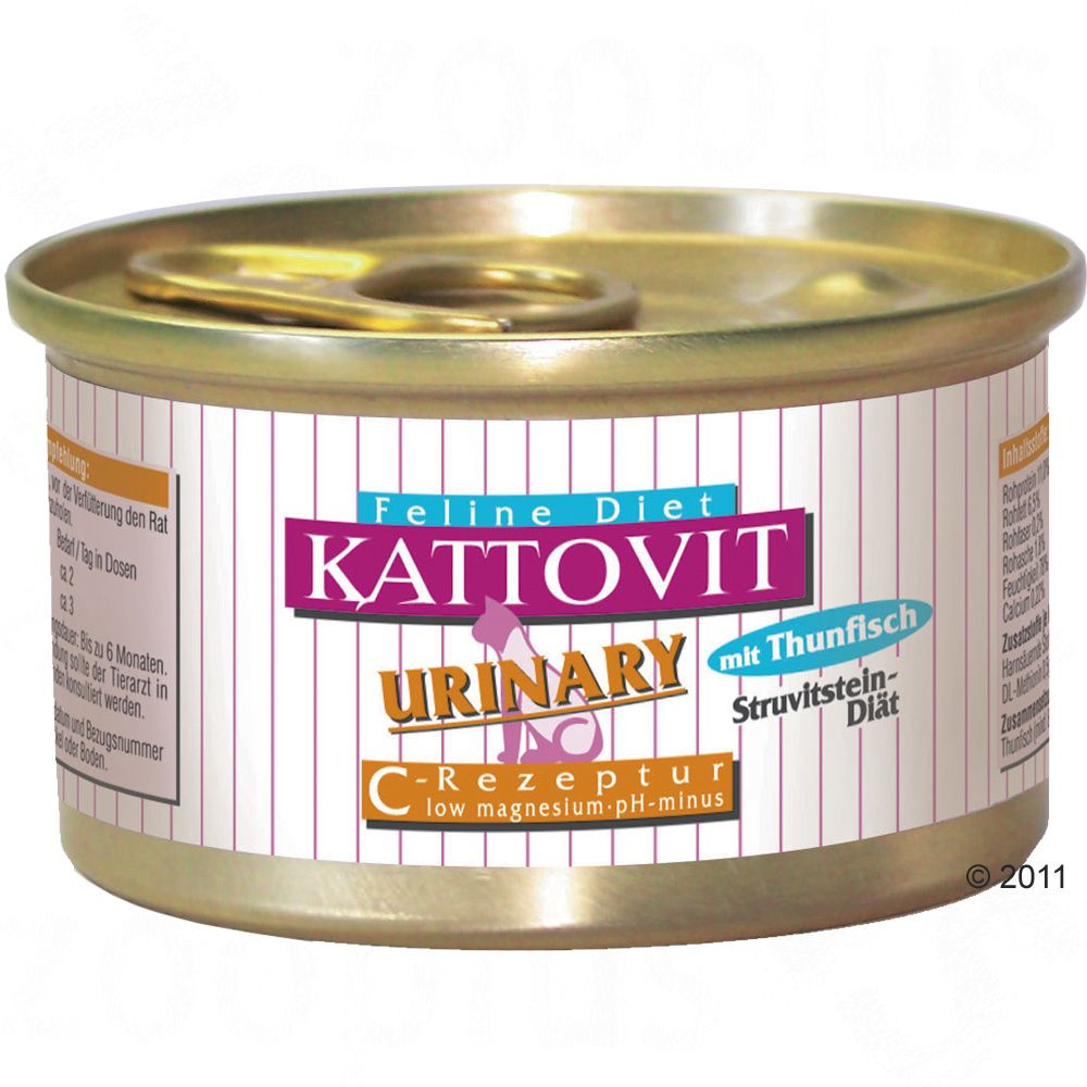 Kattovit Urinary Low Magnesium cat diet has been developed in accordance with the latest scientific findings
