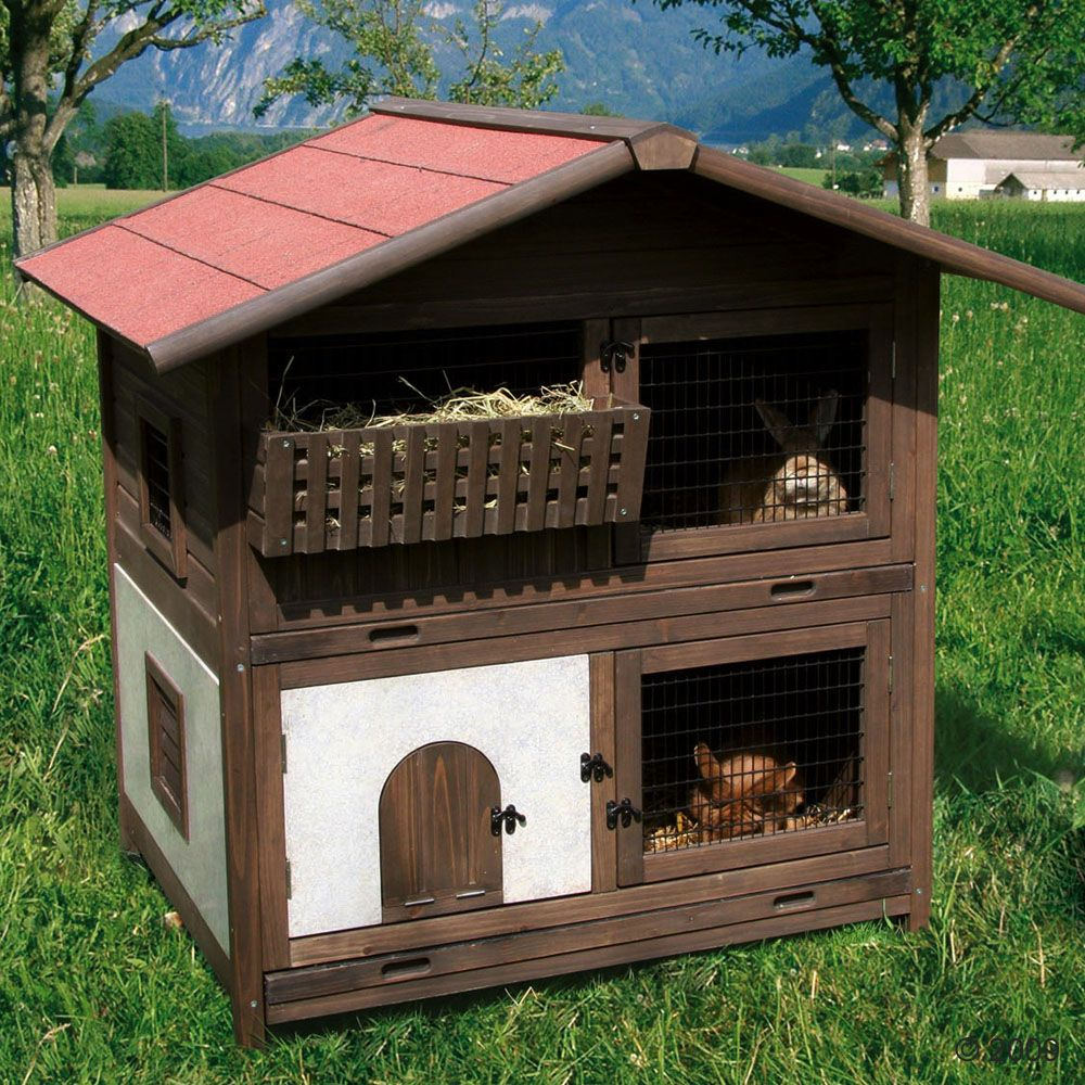 The Tyrol small pet cage will make your garden seem as if it is on an alpine pasture