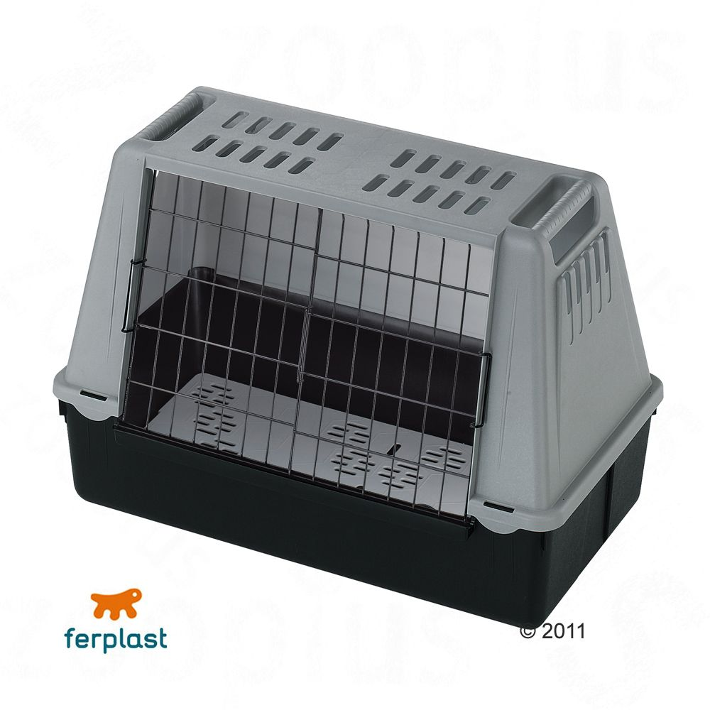 The pet carrier Atlas Car Mini from Ferplast is the perfect solution when you need to keep your pet safe when transporting
