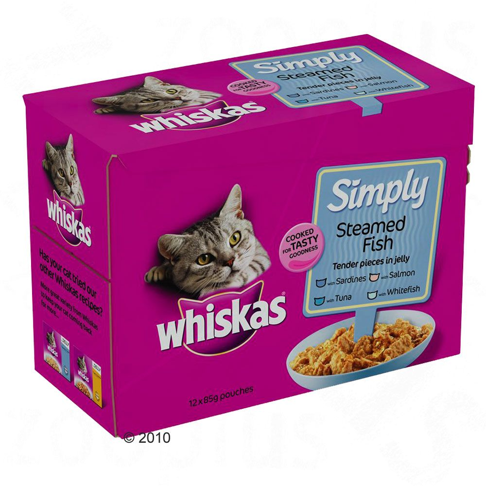 Whiskas Pouch Simply..