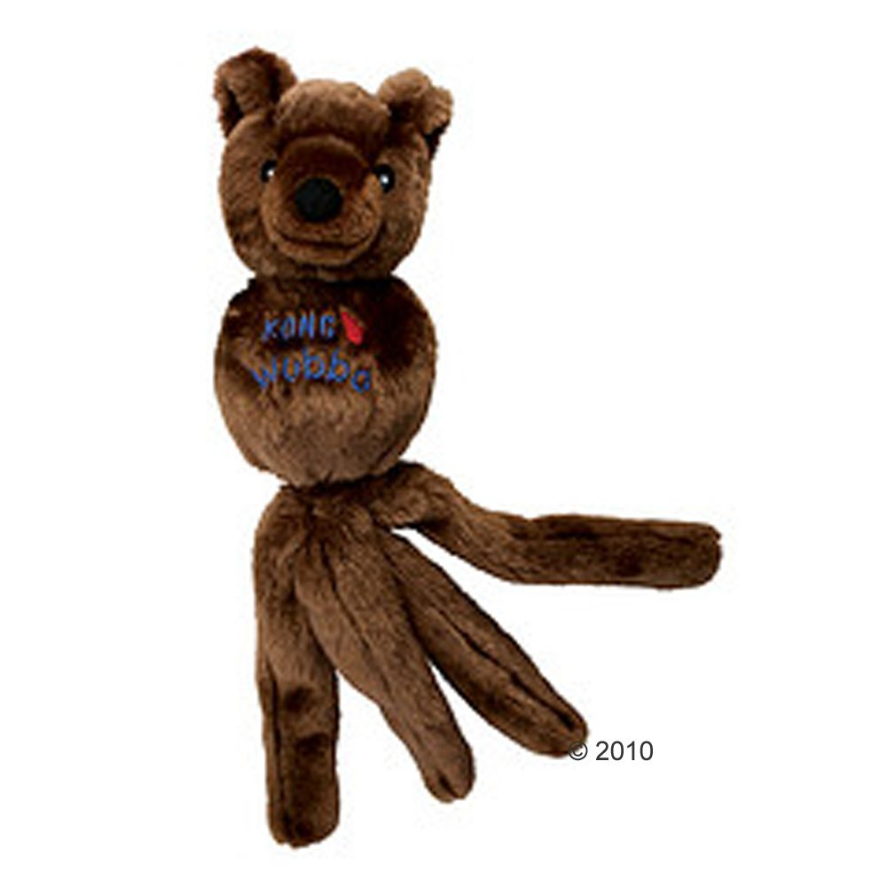 The sweet Kong Wubba Friend Bear is many toys in one