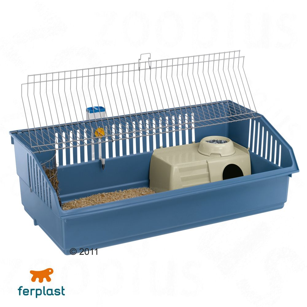 Ferplast Rabbit & Guinea Pig Cage 100 Deluxe is a home for guinea pigs