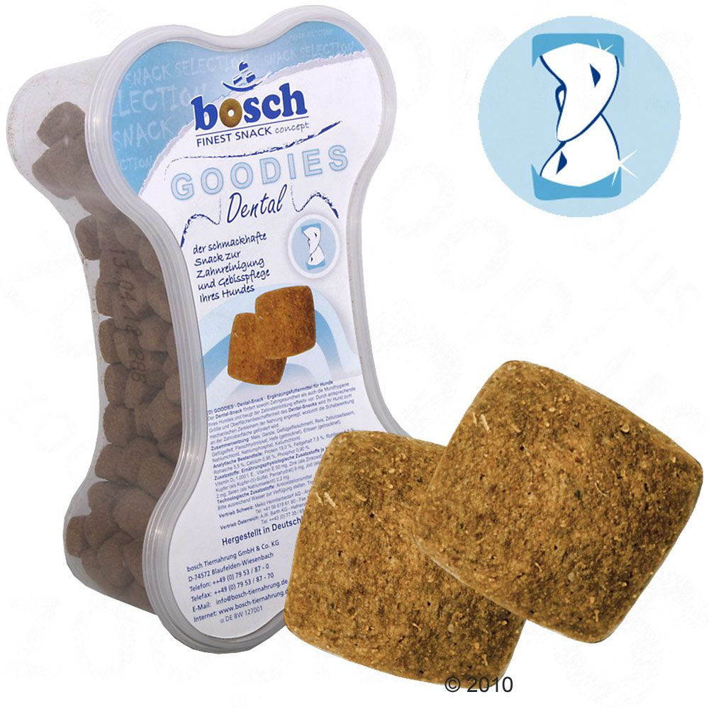Bosch Treats Dental Dog Snacks for your dog's well-being
