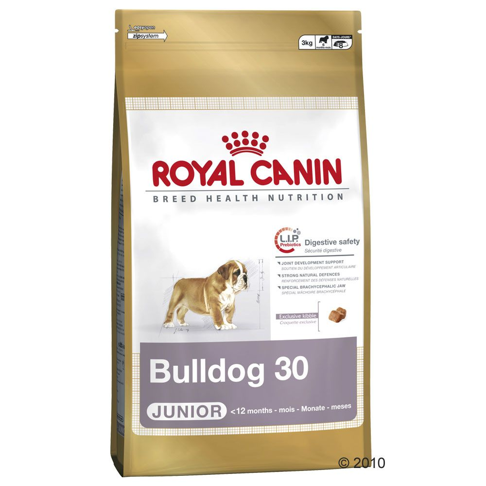 Bulldog Breed-Specific Dog Food by Royal Canin - A food that meets special nutritional requirements