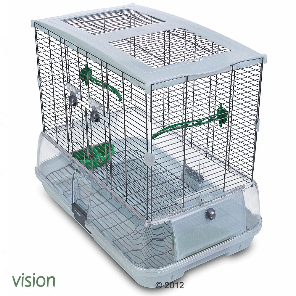 Vision II Model M02 - an innovative practical bird cage