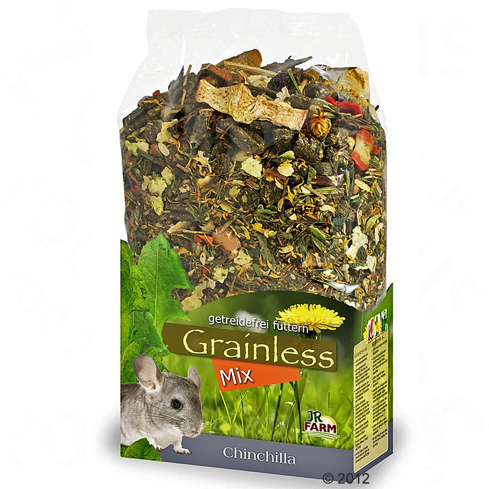 This chinchilla food mix by JR Farm is designed with the needs of chinchillas is mind