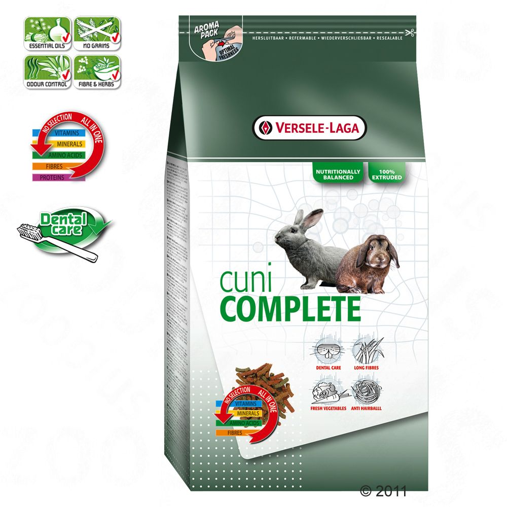 Cuni Complete is a healthy balanced food especially adapted to the needs of rabbits