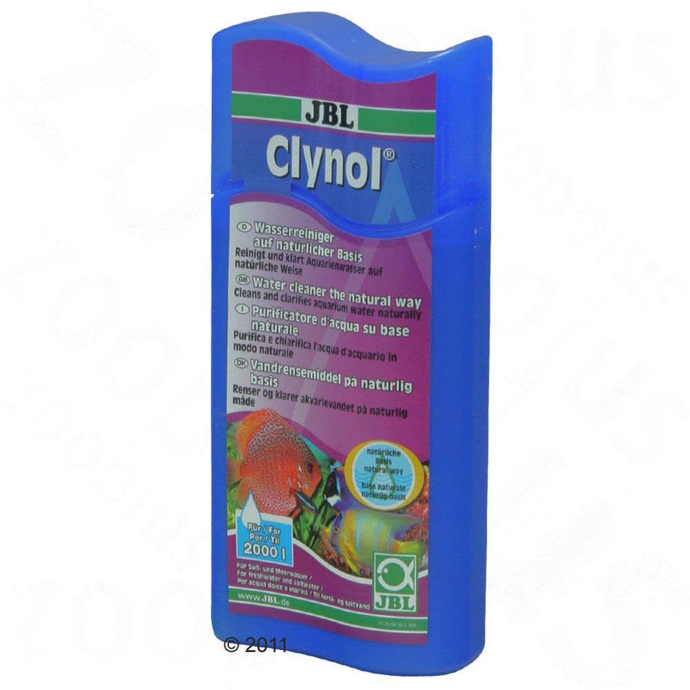 JBL Clynol cleans and clarifies aquarium water by using the power of micro fine natural minerals