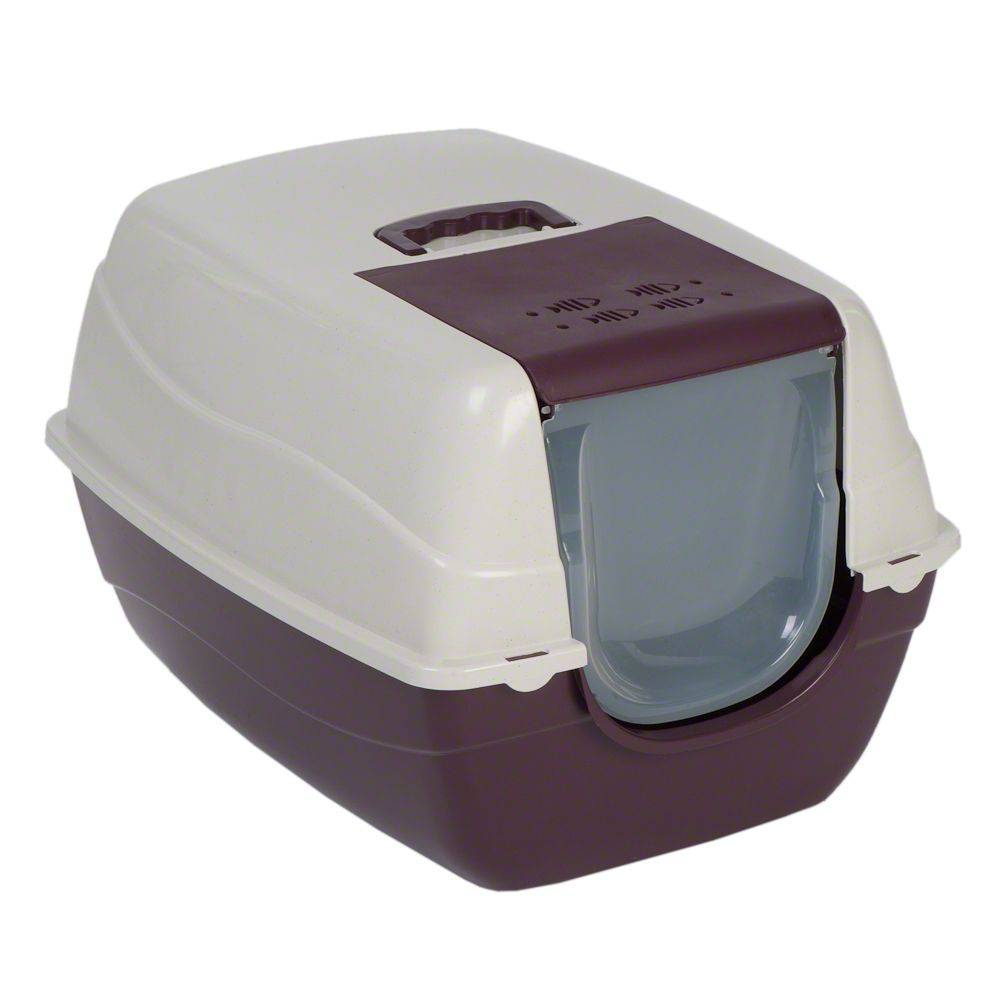 This XXL covered cat litter box is very spacious and roomy so it is perfect for larger cats