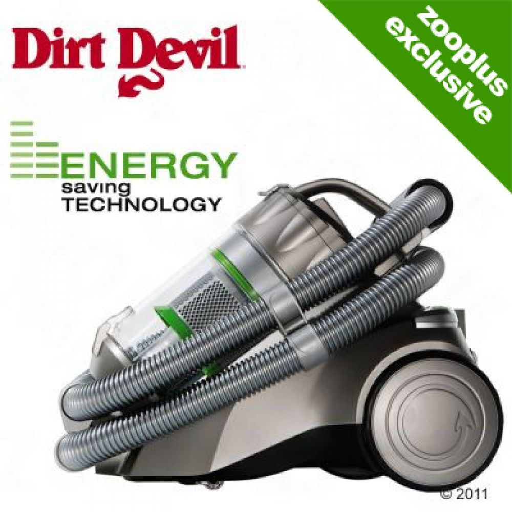 Dirt Devil Fello & Friend Infinity VS8 Turbo ECO is a powerful yet energy saving bagless vacuum cleaner with low electricity consumption