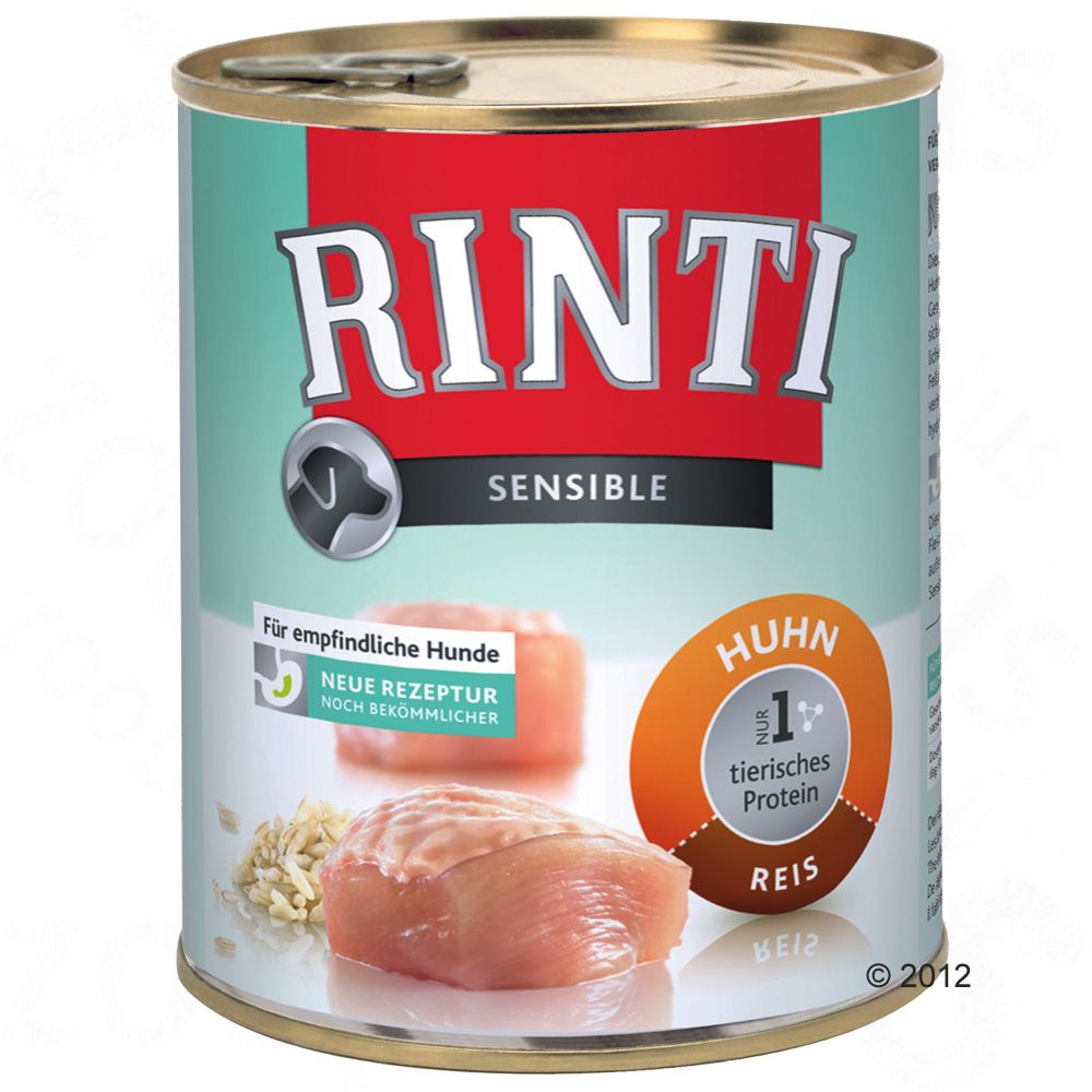 Rinti Sensible is especially well-suited for dogs who are allergic to certain food components