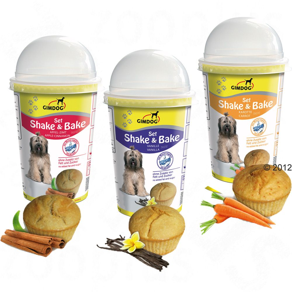 Gimdog Shake & Bake is a muffin mix which has been especially created for dogs