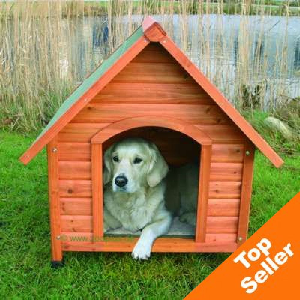 This Trixie dog kennel has specially raised feet in order to protect your dog from the cold and wet ground