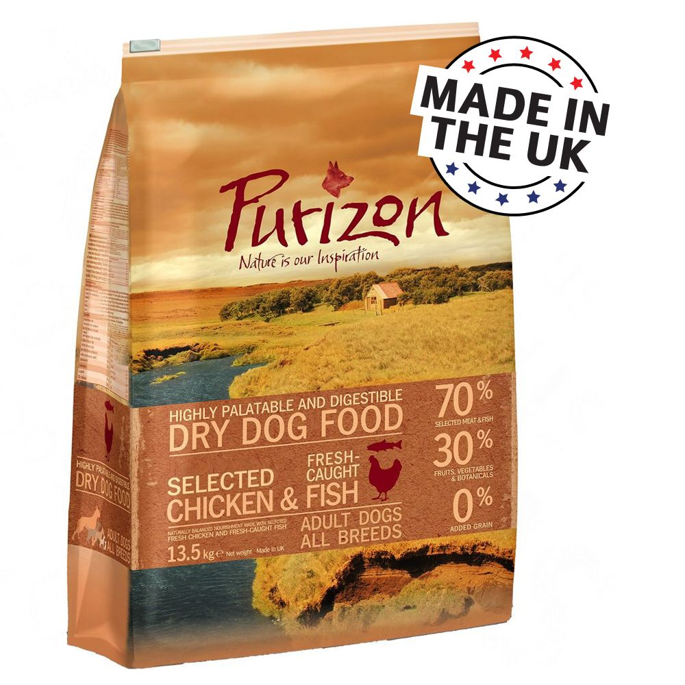 Purizon dry dog food is based on the natural carnivorous diet of dogs