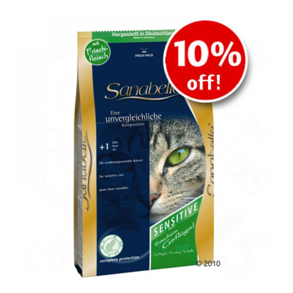 Sanabelle offers tasty nutrition adjusted to each phase of your cat