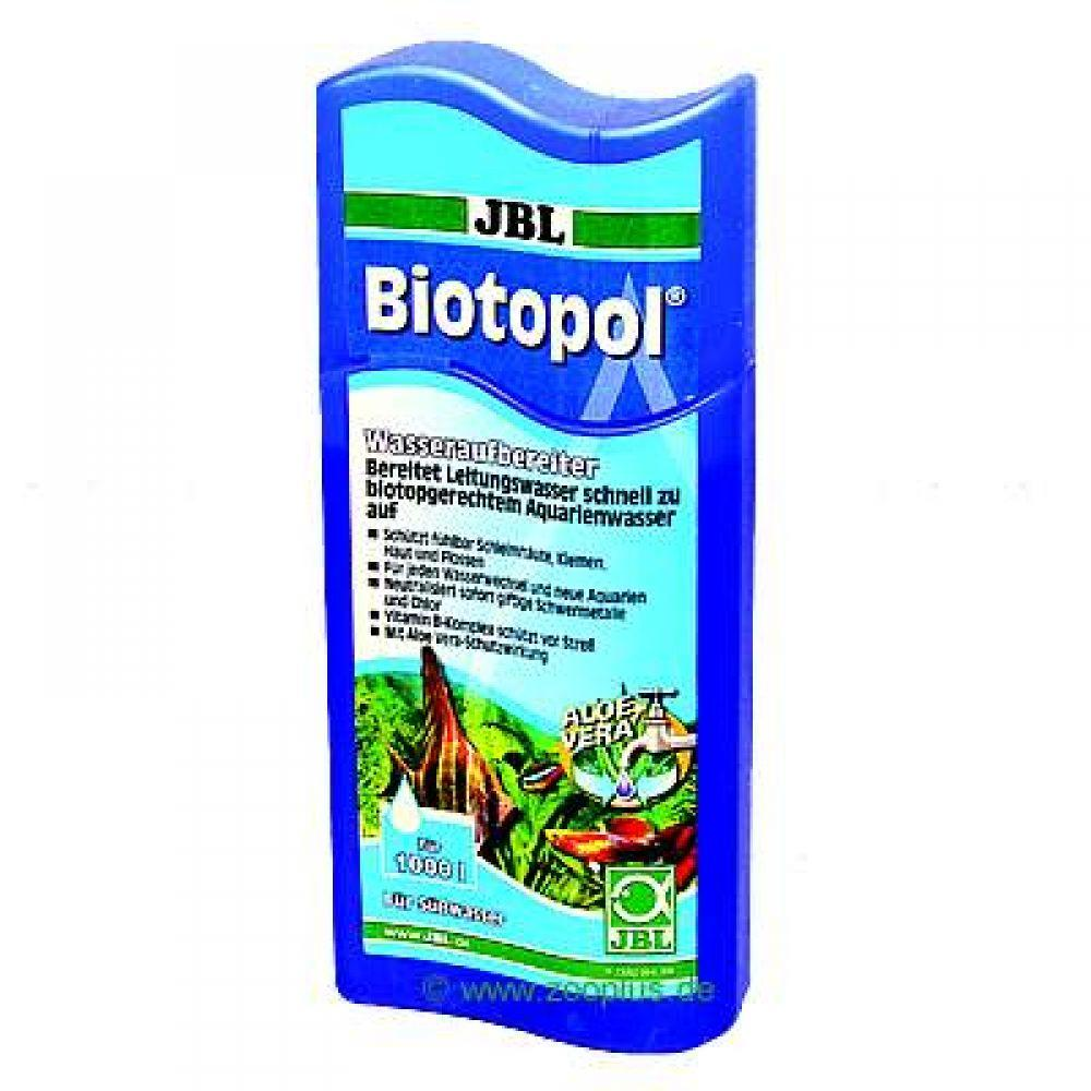 JBL Biotopol converts tap water immediately and permanently into biotopically suitable aquarium water