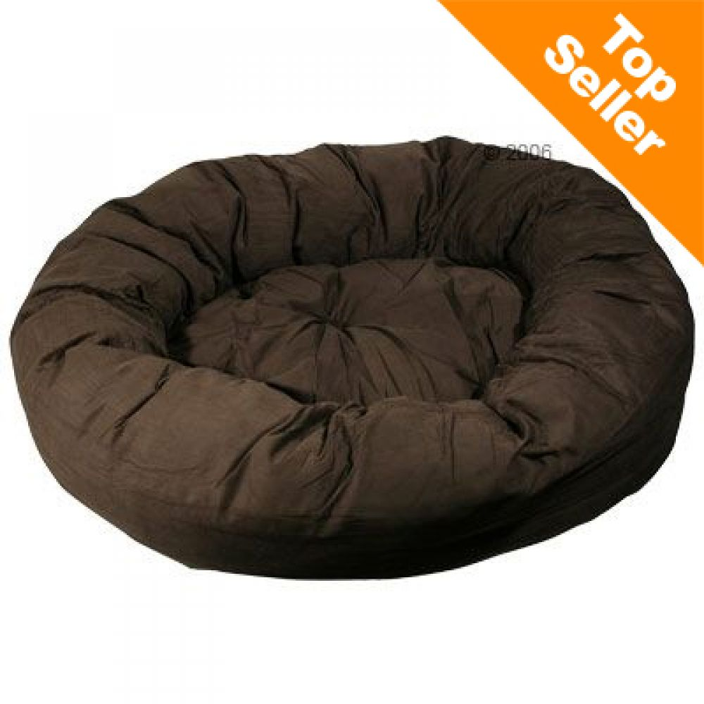 Incredibly soft dog bed with raised sides