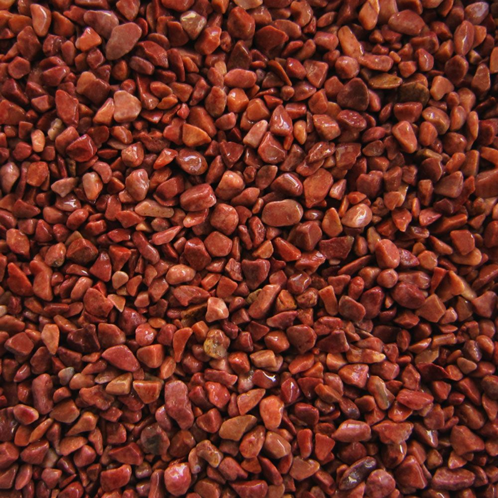 Beautiful rich red natural gravel is a great way to add a coloured substrate in your aquarium but without using gravel which has been artificially coloured