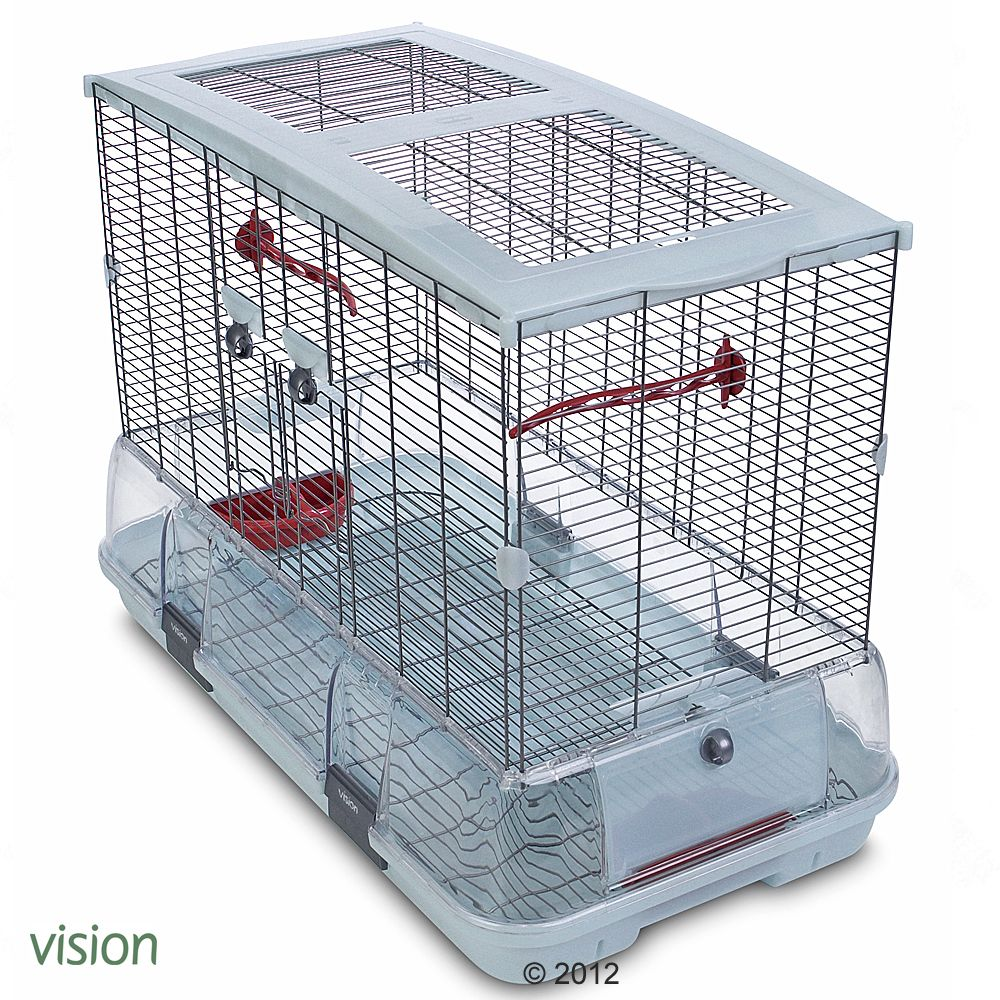 The Hagen Vision II Model L01 is an innovative and spacious bird cage that is easy to assemble