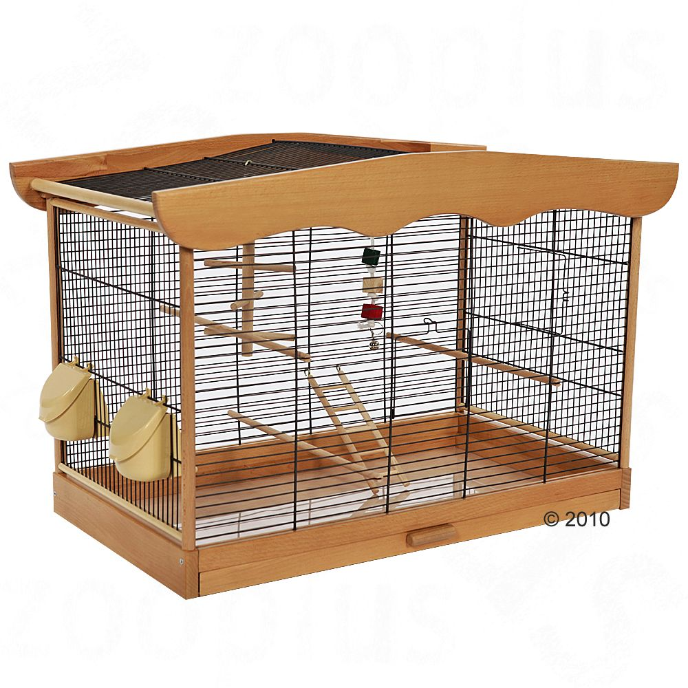 This high quality cage from Skyline radiates cosiness and well-being with its design that will look great in any home