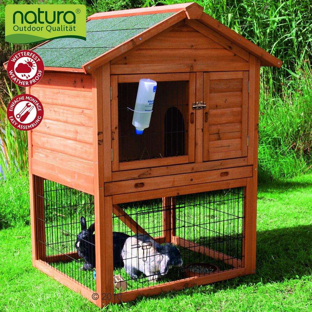 Rabbit Hutch with run for rabbits