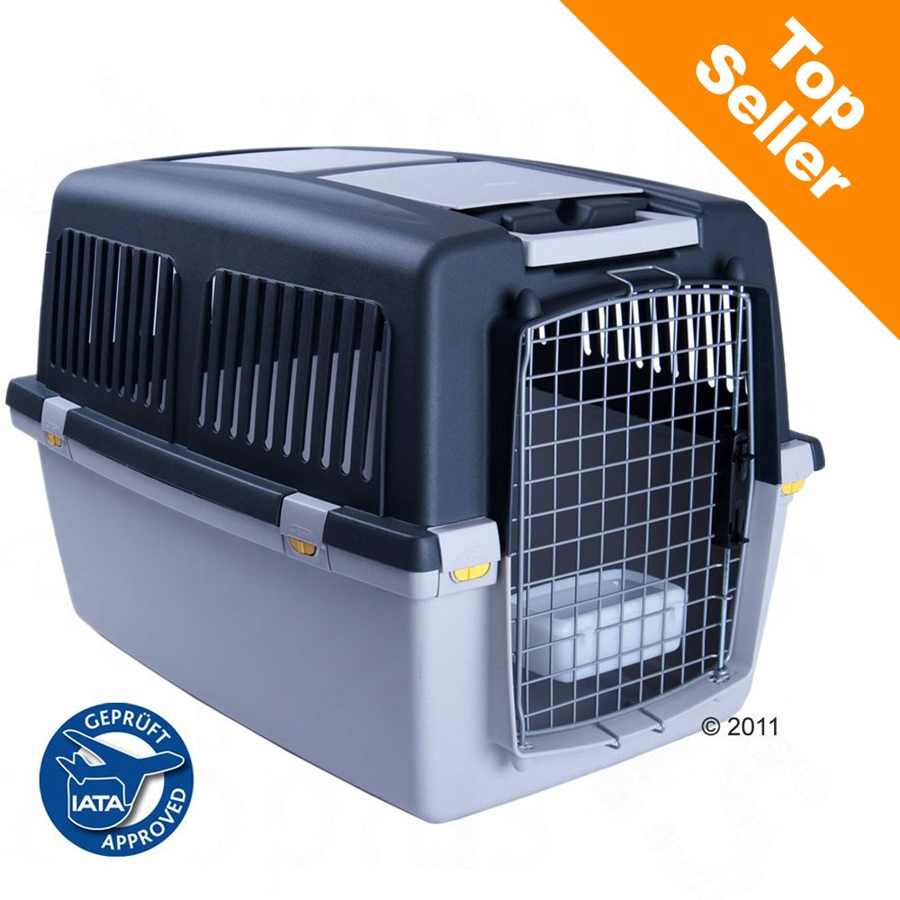 The Dog Kennel Gulliver provides your pet with extra safety on long and short journeys due to its lockable snap fasteners