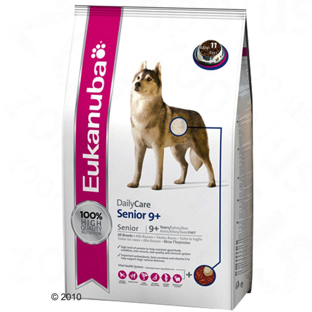 Eukanuba Daily Care Senior 9 Plus is a complete and balanced everyday diet for elderly dogs