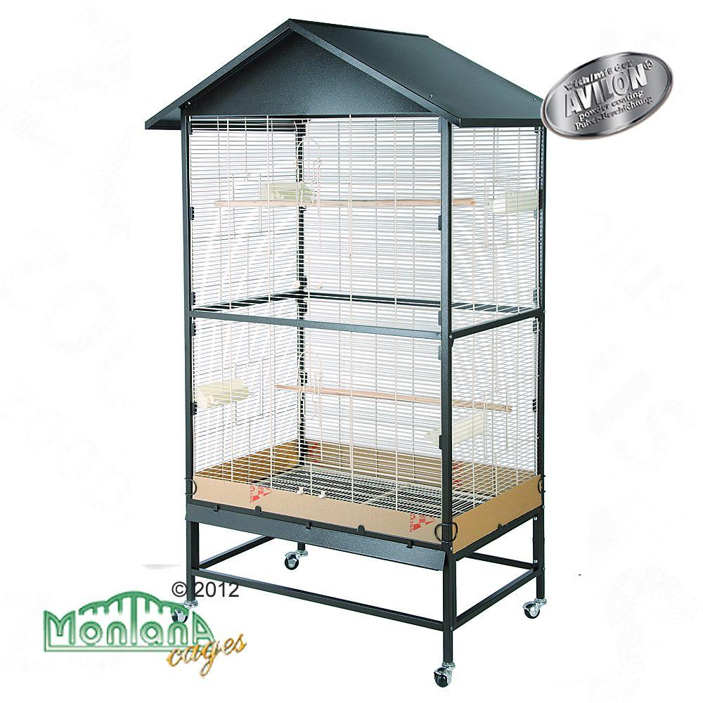 Montana Cages are premium quality birdcages with excellent workmanship
