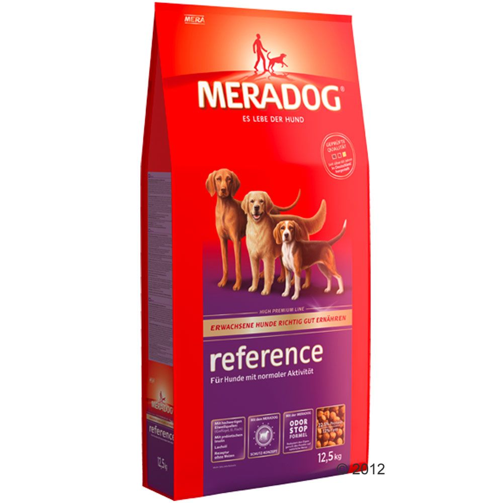 Mera Dog is a premium dry dog food made in Germany that prides itself on well-balanced healthy nutrition with high acceptance rates from pets and owners alike