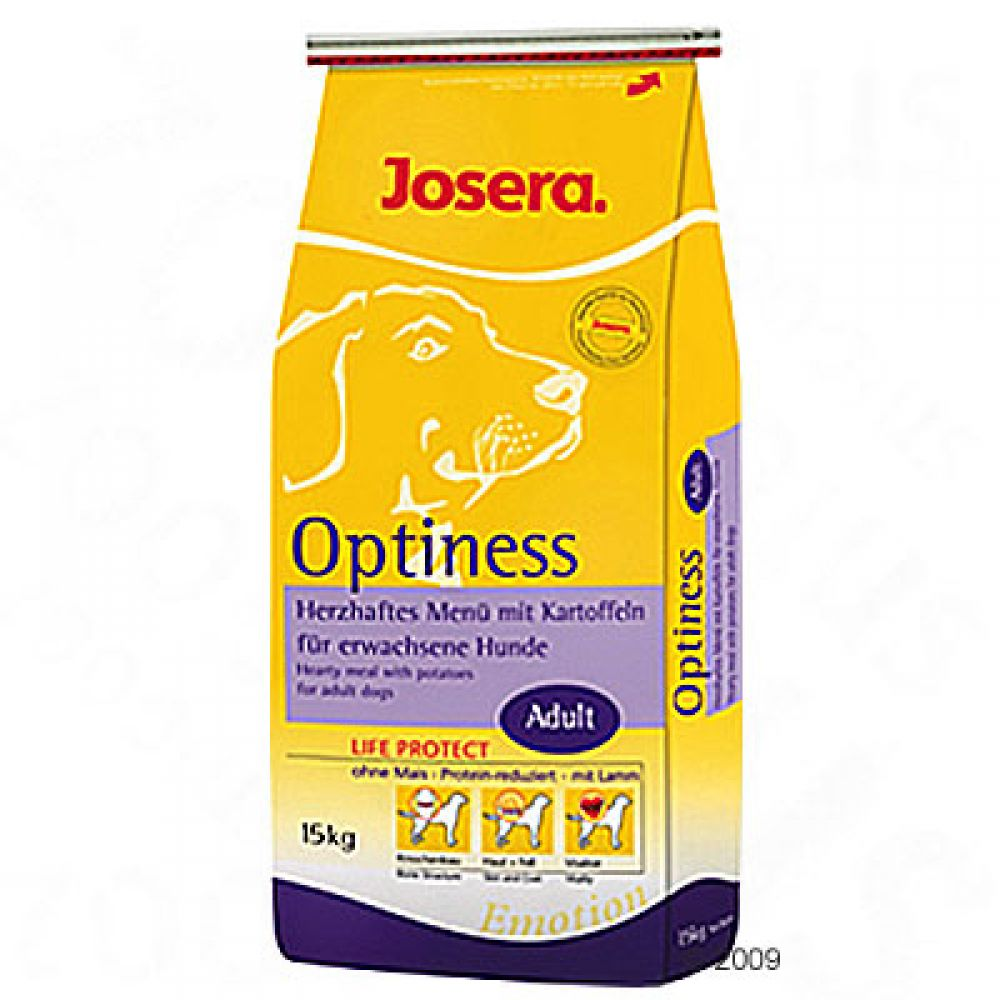 Josera Emotion Optiness Dog Food is the best choice for normally active adult dogs who prefer good taste and require quality nourishment