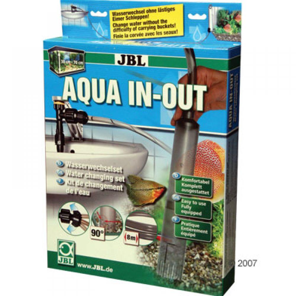 JBL Aqua In-Out Water Changing Set for cleaning and effortlessly changing your aquarium