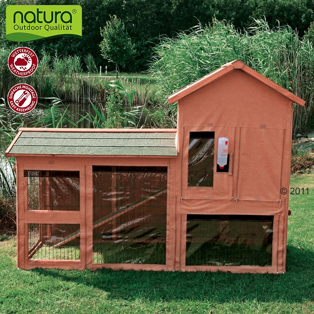 This protective cover is ideal for hutches and pets that are kept outside the entire year