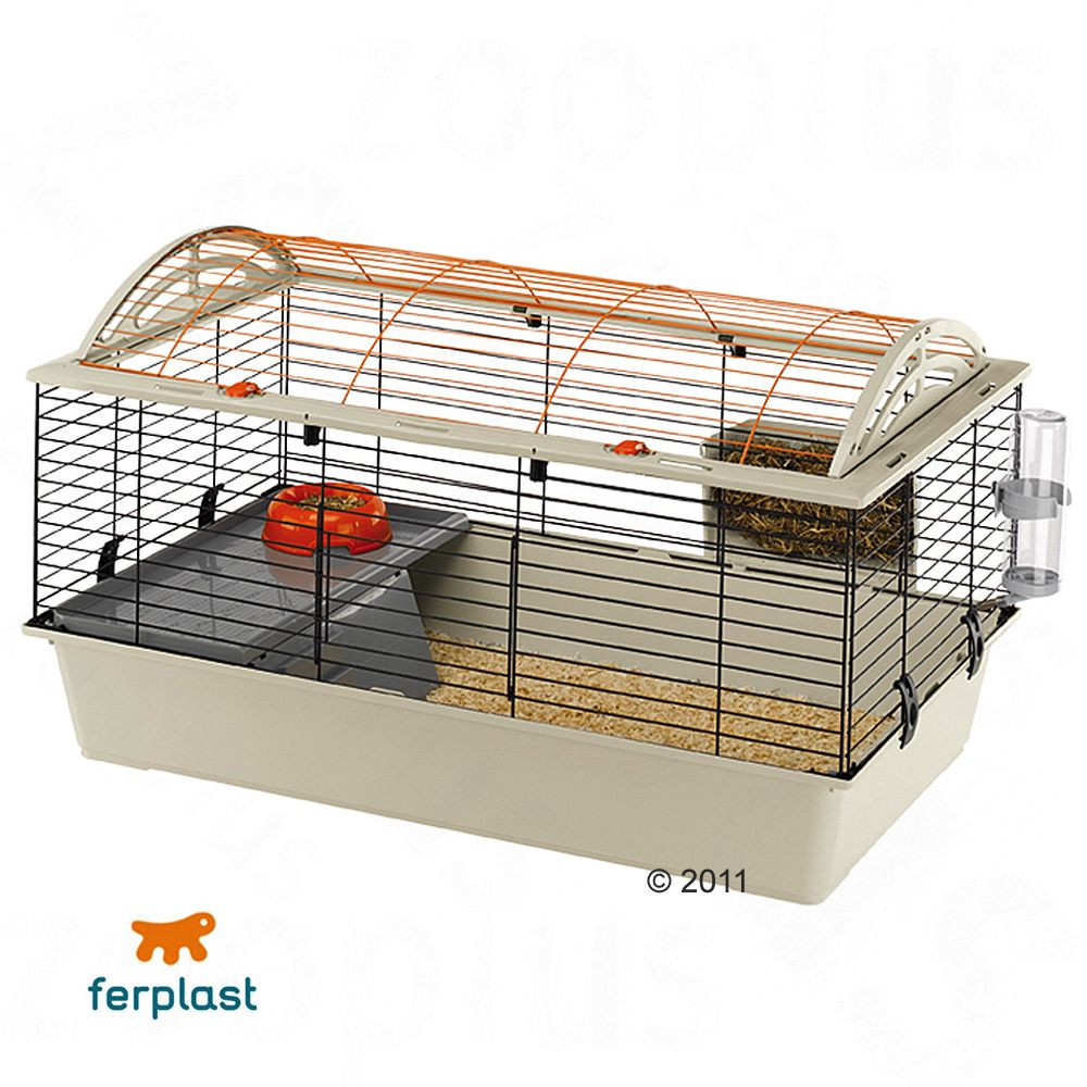 Your pet will feel like a prince or princess in the large Casita 100