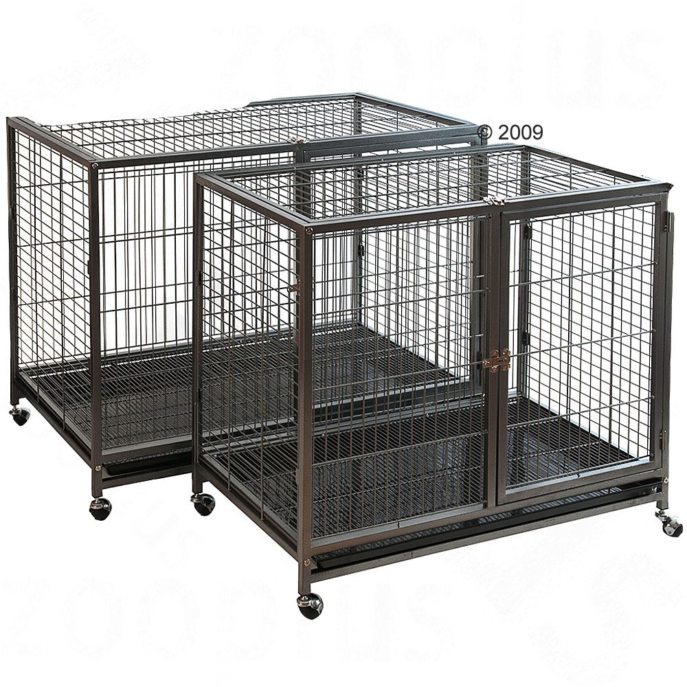 The indoor cage Tabby I is extremely robust and equipped with wheels so you can move it around quickly and easily