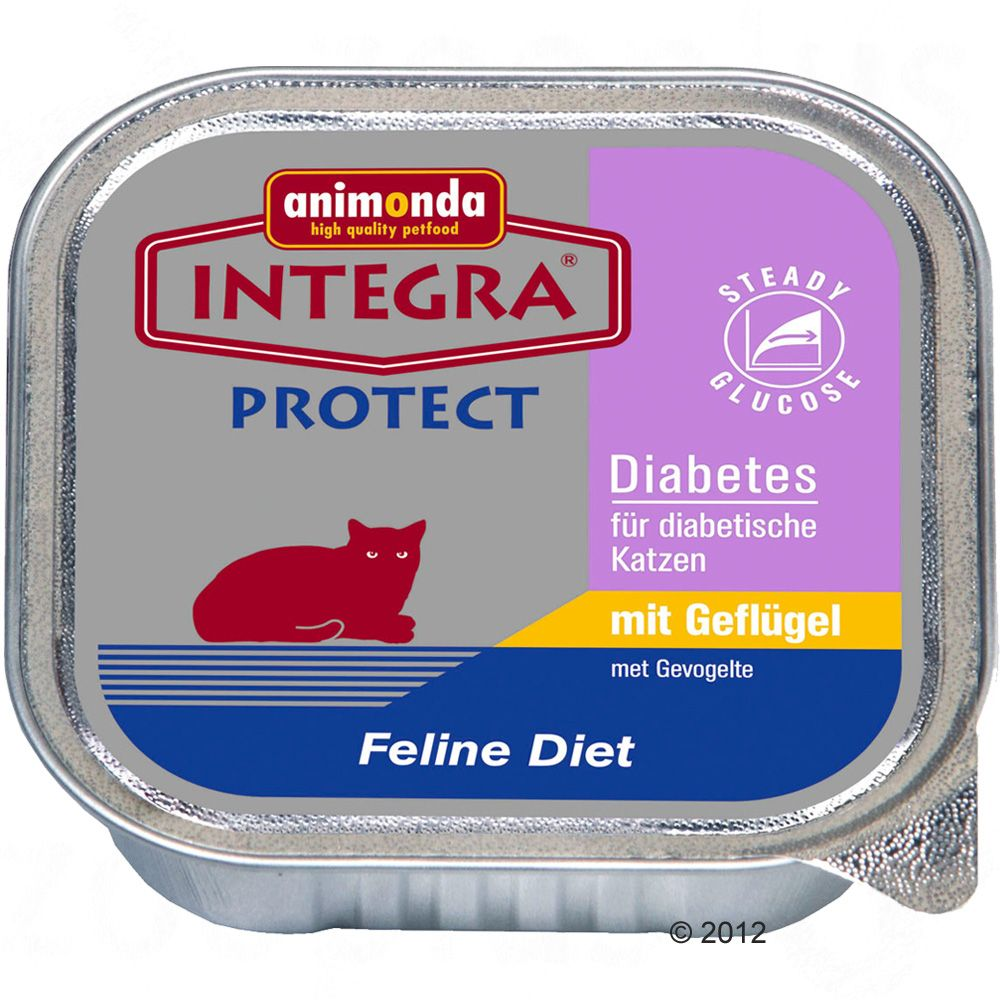 Integra Protect Diabetes Cat Food can support the care of cats with raised blood sugar levels