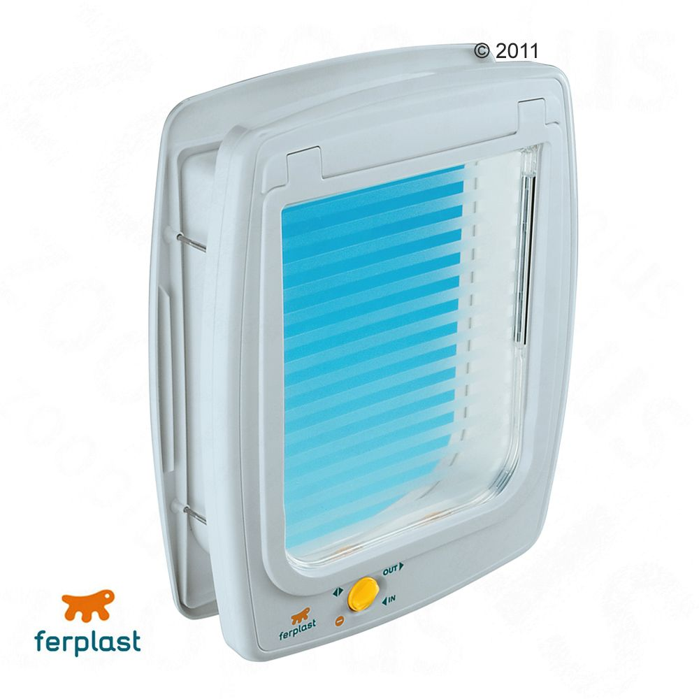 The Ferplast Swing 11 Tunnel Cat Flap with universally fitting design