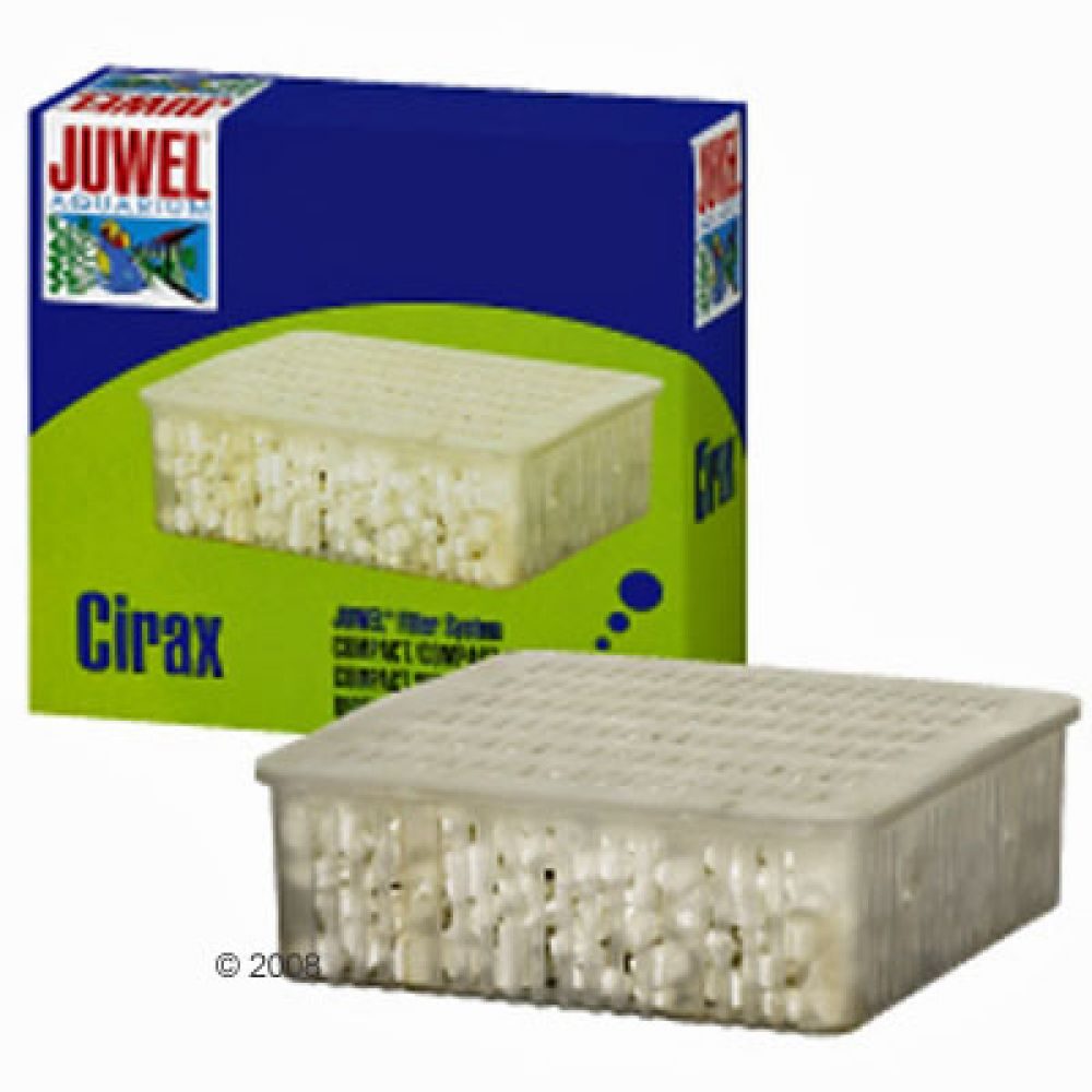 The Juwel Cirax Bioflow Filter-medium offers reliable and effective two-stage biological and mechanical filtration