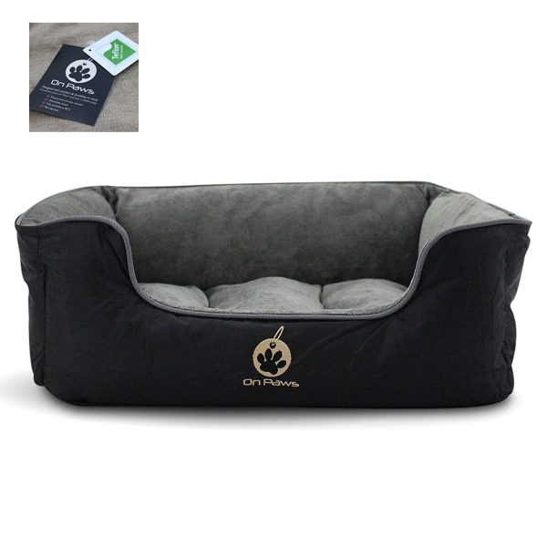 On Paws Sleep Well Lounger Dog Bed