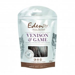 Eden Venison and Game Treats for Cats & Dogs 100g