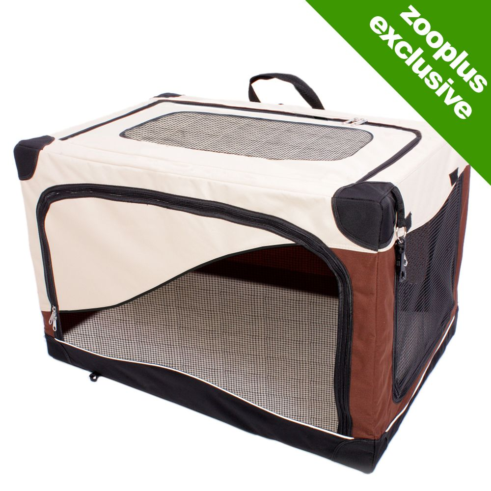 This flexible portable dog kennel is really versatile it can be used as a dog bed for your four-legged friend or simply as a retreat at home or on holiday