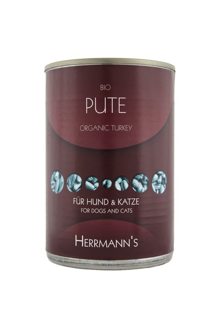 Herrmanns Dog Food Organic Meat is a unique quality complete-diet for dogs - certified organic