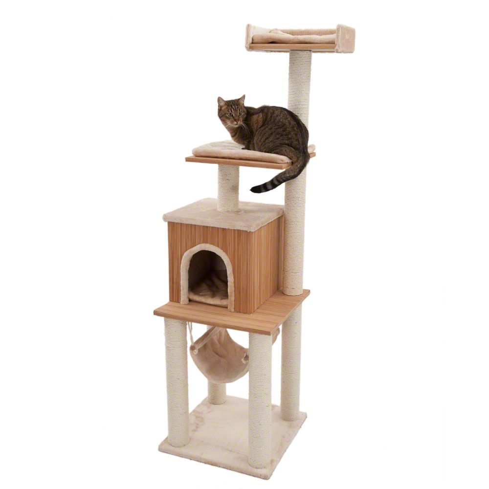 The Heracles cat tree is a great combination of form and functionality