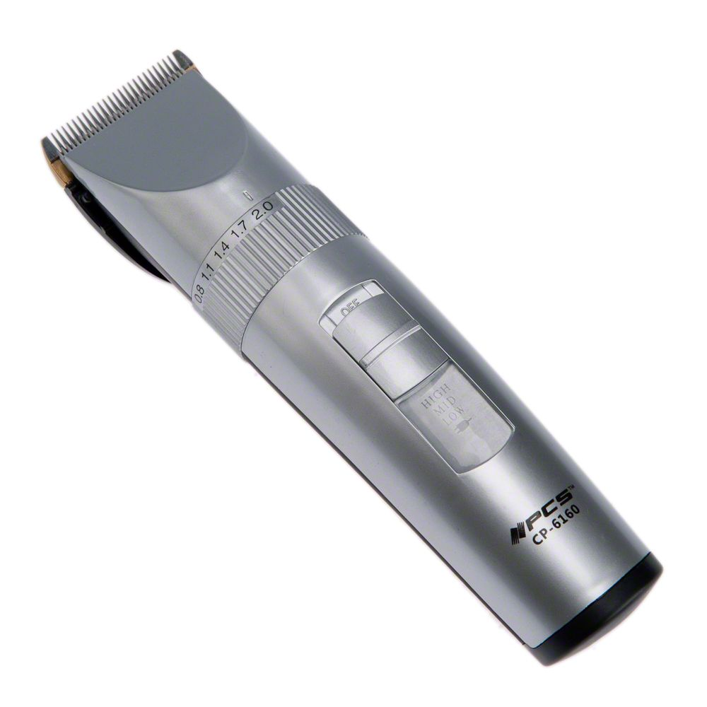 The Pet Clipper CP-6160 (3 Watt) is perfect for home use due to its quiet and low-vibration working modes