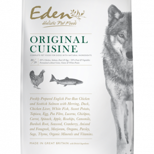 Eden 80 20 Original Cuisine 6kg Medium Kibble