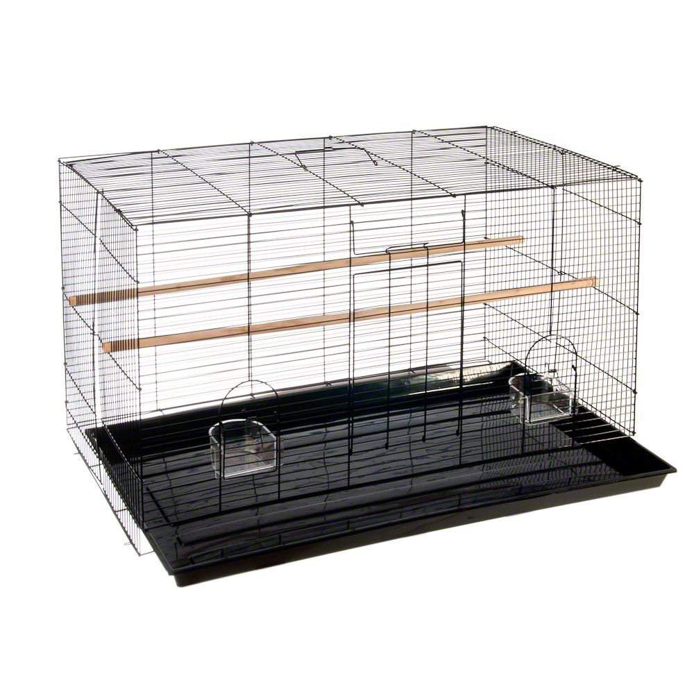 Finca pequeno is a classic metal bird cage with a narrow bar spacing so it is especially suitable for smaller bird species