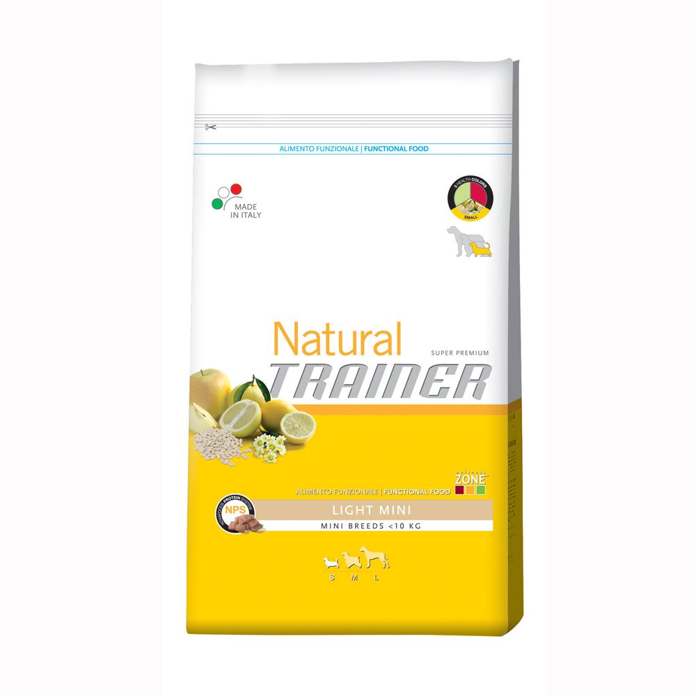 Nova Foods Trainer Natural Mini Light is a natural dry dog food