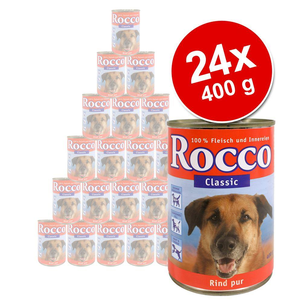 Rocco Classic is a high-quality full diet for dogs that is made of 100% meat and nutritious innards