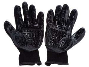 1 Pair Premium Grooming Gloves for dogs and cats